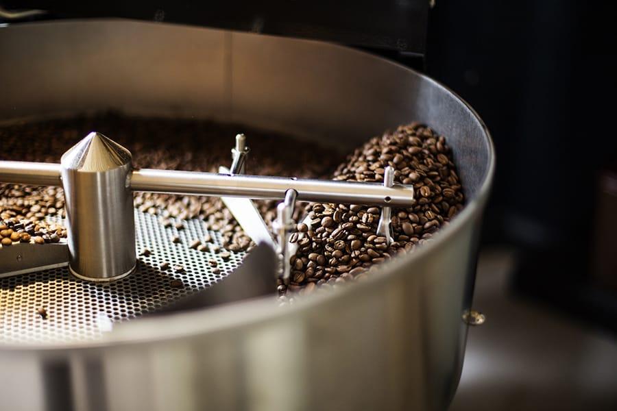 Kaffeerösterei mit Trommelröstverfahren auf dem Birkenhof im Sauerland