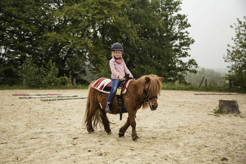 Bauernhofurlaub mit Ponyreiten im Sauerland