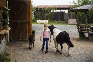Urlaub auf dem Land für kleine Ponyfans